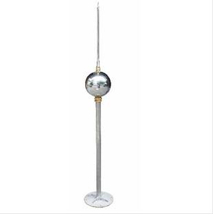 2米304不锈钢中间圆球形避雷针-螺杆空压机
